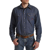 Ariat Men's Denim Work Snap Shirt
