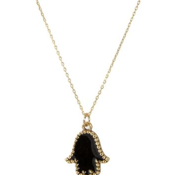 Alexandra Beth Designs Hamsa Necklace -
