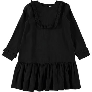 Molo Girls' Black CHANE Dress
