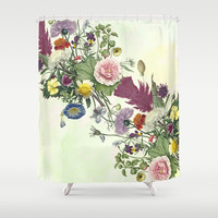 Plucked at random . Shower Curtain by anipani