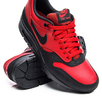 Nike Air Max 1 Leather Premium Gym Red/Black Sneaker