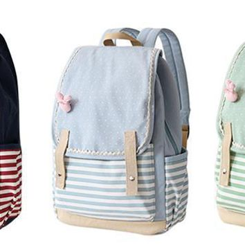 Japanese Fashion Kawaii Teenage School Bookbag Backpack