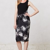 Chrysanthemum Wrap Dress