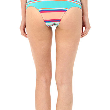 Roxy Wave Chaser Cheeky Mini Bottoms at 6pm.com