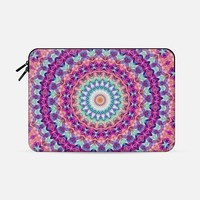 "spinning Macbook Pro 15"" sleeve by Sylvia Cook 