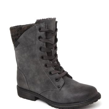 Roxy Geneva Sweater Lace Up Boots - Womens Boots