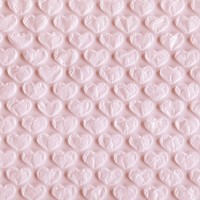 Heart Bubble Wrap (1 meter)