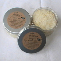 Bath Salts with Cocoa Butter and Coconut 250g Rich Bath Soak