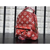 Supreme LV x Sup Fashion Sport Laptop Bag Shoulder School Bag Backpack F-A-GHSY-1