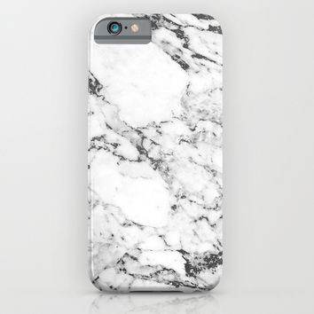 Marble iPhone & iPod Case by Mathias Thorgaard