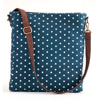 Navy Sling Crossbody Bag