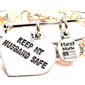 Keep My Husband Safe Heart 2 Piece Collection