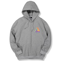Palace Women Men Fashion Casual Pattern Print Hooded Top Sweater Pullover