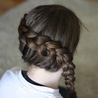 (via Katniss Braid (Hunger Games) | Anna Nimmity)