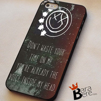 blink 182 lyrics iPhone 4s iphone 5 iphone 5s iphone 6 case, Samsung s3 samsung s4 samsung s5 note 3 note 4 case, iPod 4 5 Case
