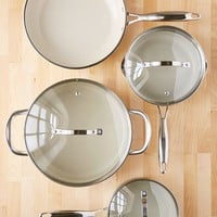 7-Piece Gleaming Cookware Set