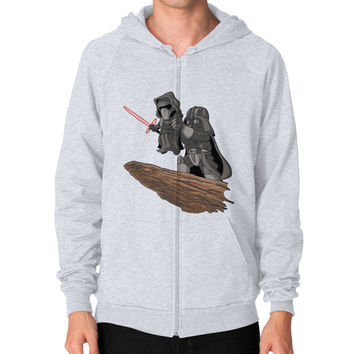 Star Wars Lion King Zip Hoodie (on man) Shirt