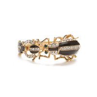 Bedazzled Beetle Cuff