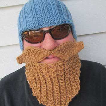 Bearded Beanie Knitting Pattern : Best Viking Beard Hat Products on Wanelo