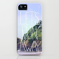 Let's Run Away: Cannon Beach, Oregon iPhone Case by Leah Flores | Society6