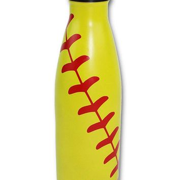 Baseball Water Bottle Softball coach, team, players, mom, men women