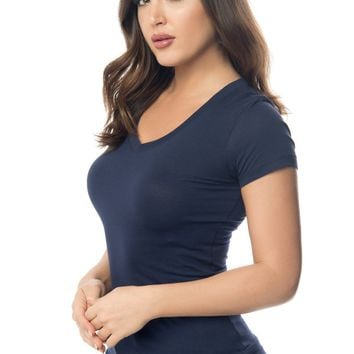 Kennedy Navy Blue Top