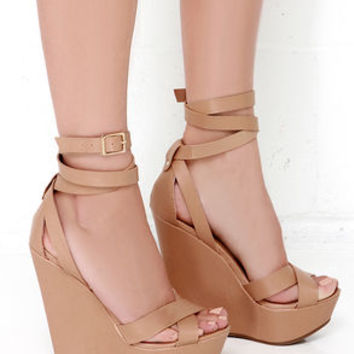 Another Level Natural Platform Wedges