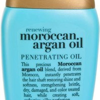 Travel Size Extra Strength Moroccan Argan Oil Penetrating Oil Dry, Course Hair
