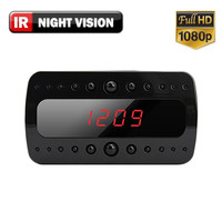 1080P HD Mini Clock Hidden Spy Camera with Night Vision with 1 Year Warranty & Free Shipping
