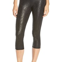 Women's Betsey Johnson Print Crop Leggings,