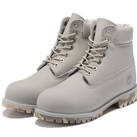 Timberland 10061 anti-fatigue outdoor classic high boots to help light gray - camoufla