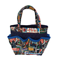 Star Wars Bingo Bag // Craft Organizer // Makeup Organizer // Caddy // Teacher Tote // Nurse Tote
