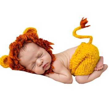 Soft Handmade Crochet Baby Hat for Newborn Photography -Various Designs