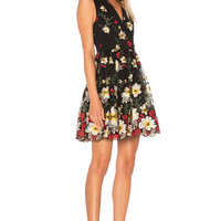 Alice + Olivia Becca Dress in Multi | REVOLVE