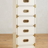 Lacquered Wellington Lingerie Chest