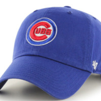 Forty Seven Brand Chicago Cubs Clean Up Hat In Royal