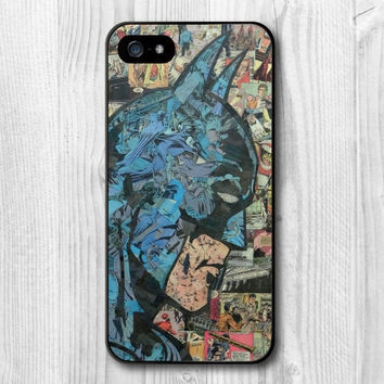 Batman Superhero Comic Book Vintage Dark Knight NEW iPhone 6s 6S 6 case cover fast shipping