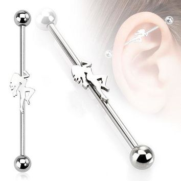 Sexy Dancer Industrial Barbell