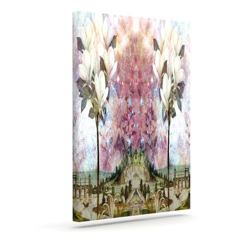 "Suzanne Carter ""The Magnolia Trees"" Outdoor Canvas Wall Art"