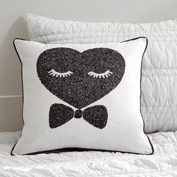 Ms. Love Sequin Pillow Cover