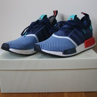 Adidas NMD_R1 PrimeKnit X Packer Shoes Consortium Size 8 DS