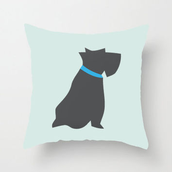 Dog Pet Pillow cover 18x18 inch- Decorative Cushion Cover Accessories - Color Pillow Cover
