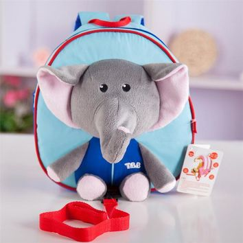 Boys Backpack Bag 2018 Cute Kids School Bags Cartoon Animals  Mini Baby Toddler Book Bag Kindergarten  AT_61_4