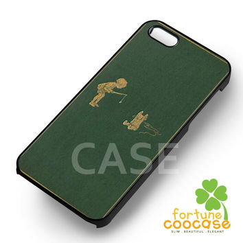 Winnie the Pooh cover book -end for iPhone 6S case, iPhone 5s case, iPhone 6 case, iPhone 4S, Samsung S6 Edge
