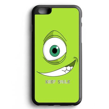 Custom Case Monsters Inc Mike Pixar for iPhone Case & Samsung Case