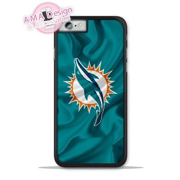 Miami Dolphins Football Flag Phone Cover Case For Apple iPhone X 8 7 6 6s Plus 5 5s SE 5c 4 4s For iPod Touch