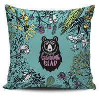 Grandma Bear Pillow Cover
