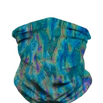 Acid Lagoon Seamless Mask Bandana