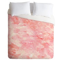 Rosie Brown Art Deco Pink Duvet Cover