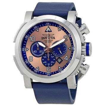 Invicta I-Force Chronograph Rose Dial Mens Watch 23366